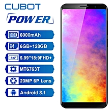 CUBOT POWER 4G Phablet MTK6763T Octa Core 6GB RAM 128GB ROM - BLUE