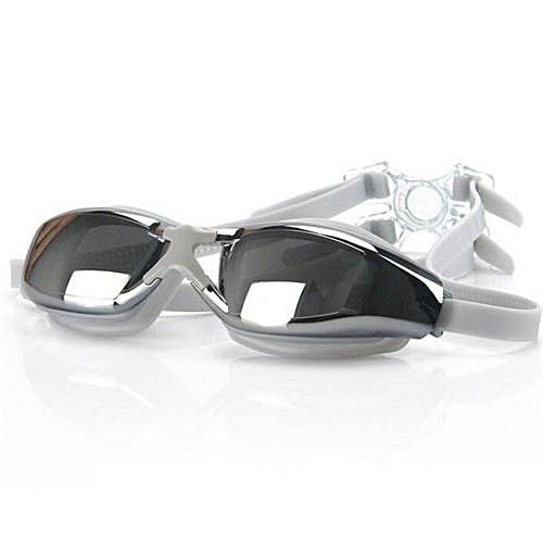 a2bdb1a6a694 Fashion FEIUPE Women Men Adult Swimwear Waterproof Swim Eyewear Anti-fog  Anti-uv Swim Sportswear Swimming Goggles Glasses(White)