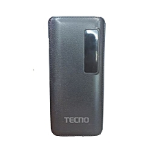 30000MAH Power Bank With Flashlight - Black