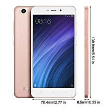 "Xiaomi Redmi 4A Mobile Phone 2GB RAM 16GB ROM 5.0"" 4G Snapdragon 425 Quad Core-Pink"