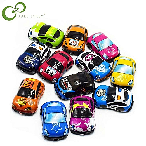 Generic New 10pcs Lot Baby Toys Cute Plastic Pull Back Cars Toy Cars