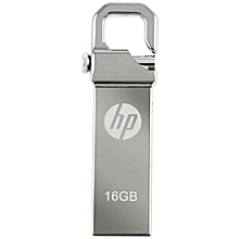 Flash Disk - V250w- 16GB -Compact Metalic - USB 2.0 - Silver