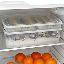 KCASA KC-SR06 Kitchen Organizer Freezer Storage Holder Refrigerator Moisture Proof Food Preserve Box L