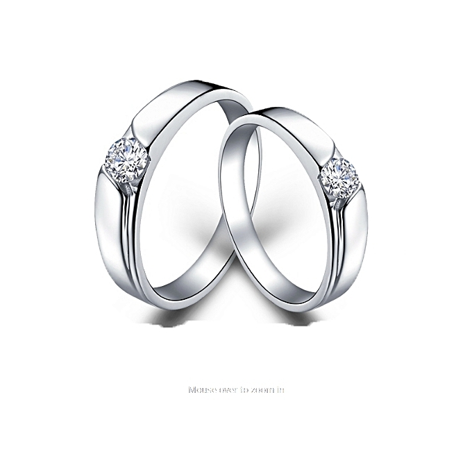 d7797ef438 Pablo Gift Shop 92.5 Sterling Silver Couple Rings @ Best Price ...