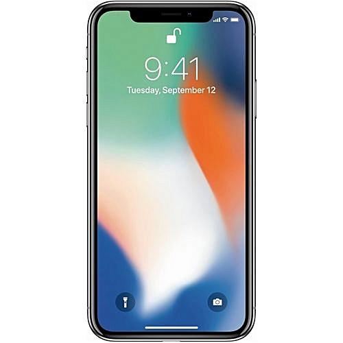 IPhone X 5.8-Inch HD (3GB,64GB ROM) IOS 11, 12MP + 7MP 4G Smartphone - Silver