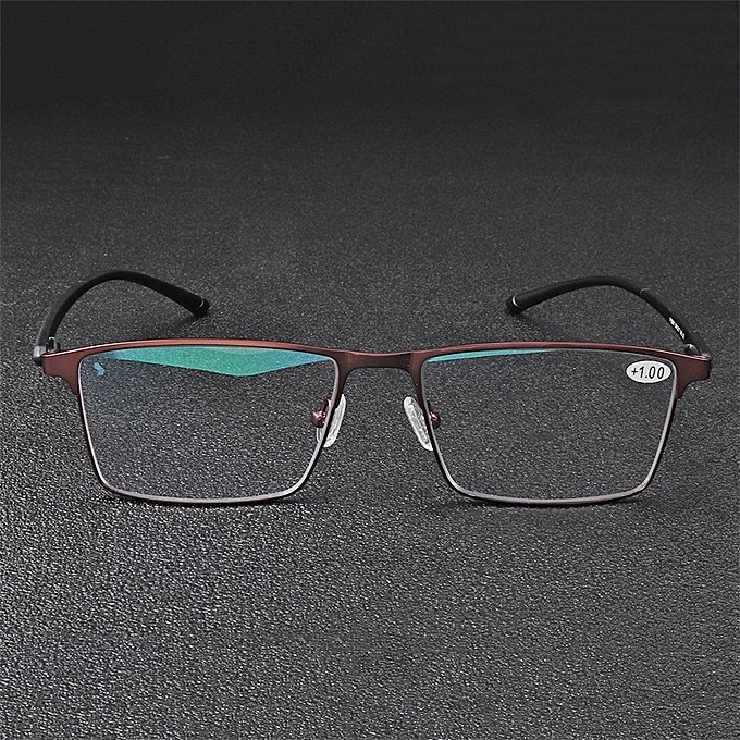c6ca5f7c0de ... KCASA TR90 Prescription Reading Glasses Anti Blue Light Anti Fatigue  With Mixed Strength Lens ...