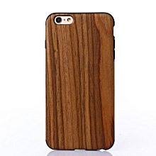 Natural Wood Wooden Case Cover Protect Pattern For IPhone 6s 4.7Inch AI