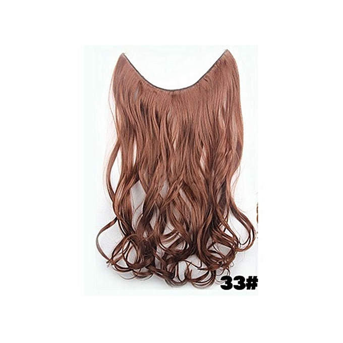 Buy Best One Ladies Hairpieces Long Curly Hair Wig Natural Wave Fish