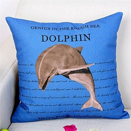 2eaf20fa52da Generic Quality Cotton Linen Underwater World Marine Life Car Decorative  Throw Pillow Case Cushion Cover Sofa Home Decor(Multicolor2)