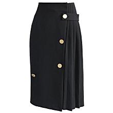 ee914aa5b47 Half-Length Skirt Women  039 S Dress High Waist Elastic Hip-Wrapped