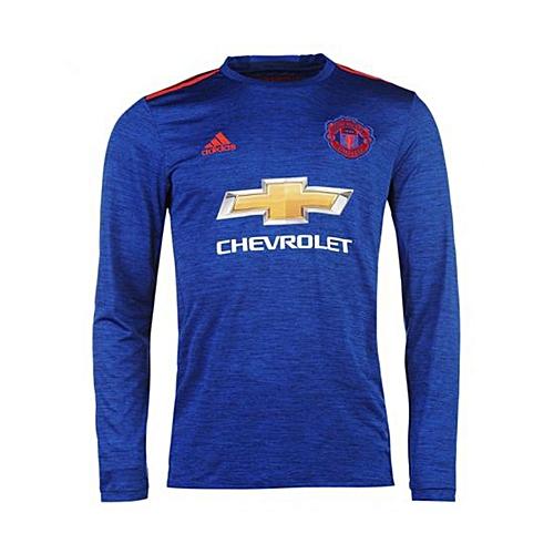 FOOTBALL JERSEYS Manchester United  Away Kit Jersey 16/17 Long Sleeve