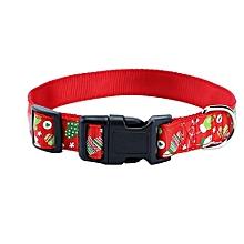 Christmas Design Pet Dog Collar Christmas Pet Collars Dog Collar
