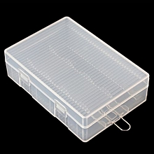 Portable Hard Plastic Case Holder Storage Box For 4 X 26650 Batteries