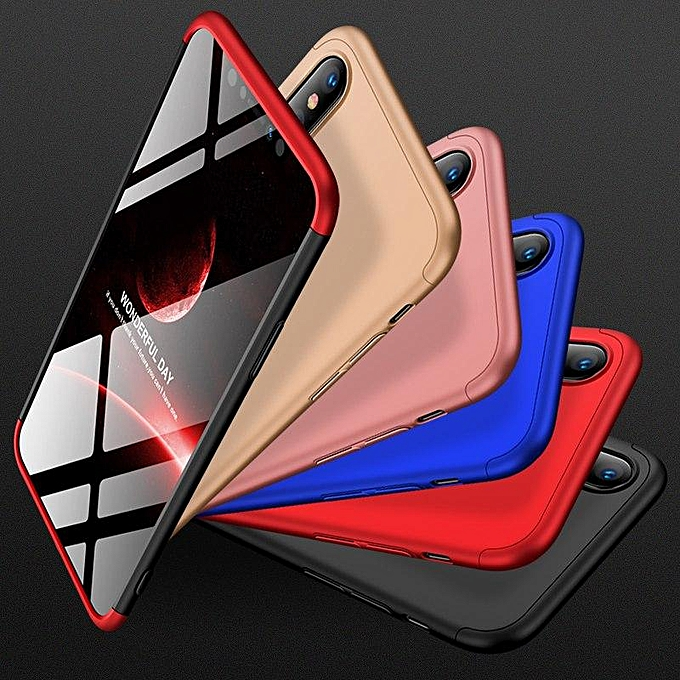 119ac3647e6 ... Case For IPhone XS Max Case 360 Degree Full Protection Hard PC 3 In 1  Matte