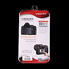 Optical Tempered Glass Camera LCD Screen HD Protector Cover For Nikon D5300