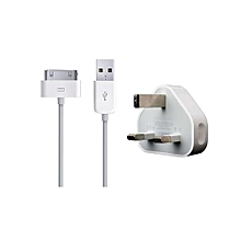 Iphone/Ipad/Ipod Charger - White