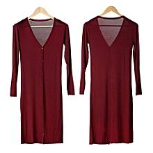 Fashion Women's Casual Long Sleeve Cardigan Knit Knitwear Outwear Coat Tops