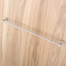 Wall Mounted Towel Rack Bathroom Hotel Rail Holder Storage Shelf Hanger Aluminum Single Layer/Double Layer