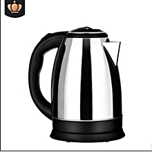 High Quality  Electric Stainless Kettle - 2.0Litres - Black