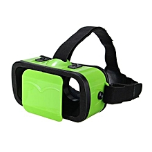 Virtual Reality BOX 3D Glasses Headset Goggles Moive For IPhone Android Phone Green