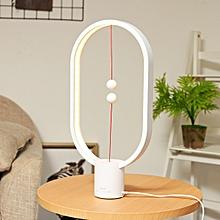 Heng Balance Lamp Magnetic Light Night Light 48pcs LED Bulbs Indoor Decoration White Red Black