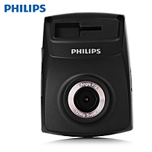 PHILIPS ADR710 Driving Recorder 1296P 145 Degree Parking Monitor-BLACK