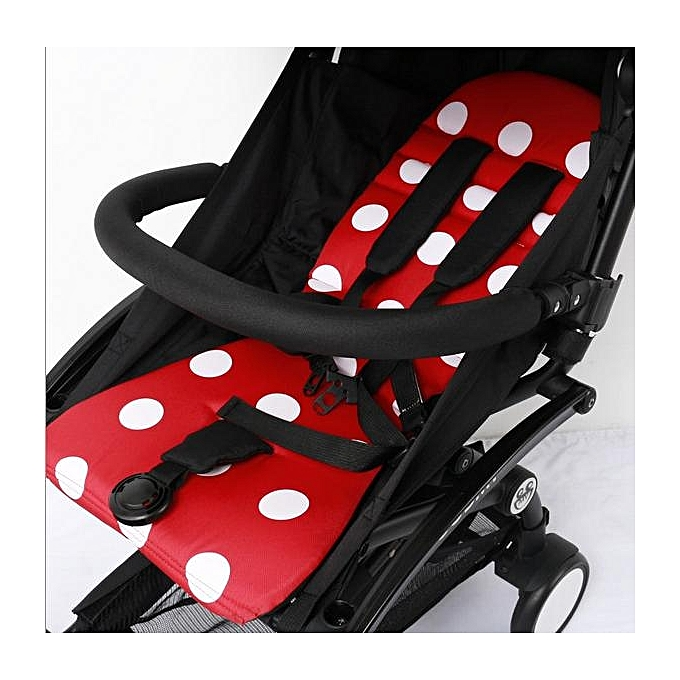 With Armrests Without 32CM Cloth Pocket Extended Booster Seat Footrest Foot Stand Bumper Bar For YOYO