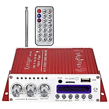 V10 Bluetooth Hi-Fi Class-AB Audio Power Amplifier_RED