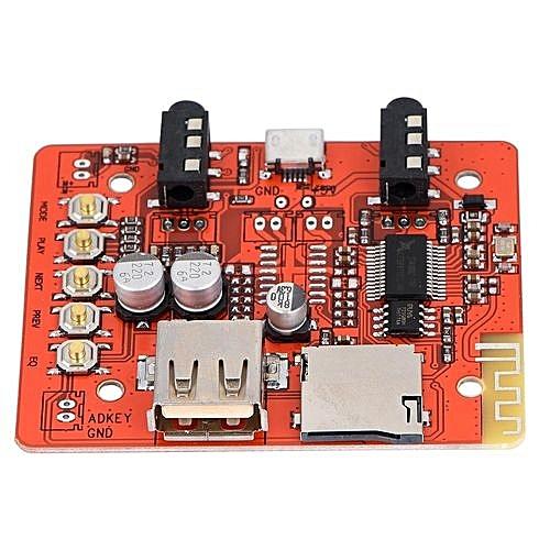 Wireless Bluetooth Audio Receiver Amplifier Amp Board Car Speaker Stereo  Module