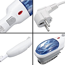 Portable Travel Home Handheld Iron Steam Brush Steamer Clothes Laundry Garment - White