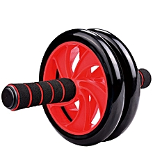 Double Wheel Roller - Red & Black