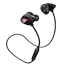 T800 Wireless Bluetooth Sport Music In-ear Earbuds Support Hands-free Calls Volume Control-BROWN