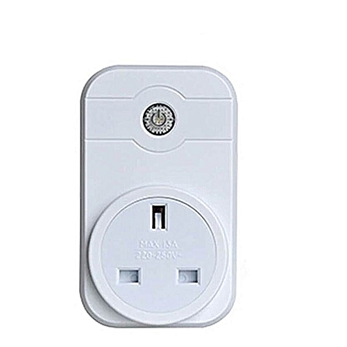 WiFi Smart Plug, Wireless Socket Mini Outlet with Energy Monitoring App ,  Remote Control your Devices from Anywhere - White