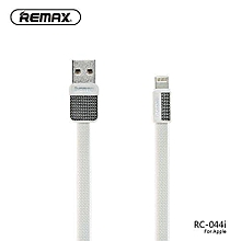 Remax RC-044i Apple iPhone Data Lighting Cable Metal Platinum 1m (APPLE) DIOKKC
