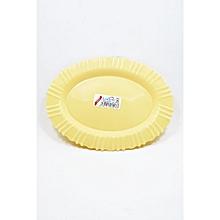 Oval Plate. Medium