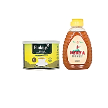 Green Tea - 40g + Natural Honey - 500g