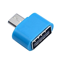 OTG Micro-USB Connector - Blue