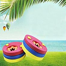 6Pcs Swim Discs EVA Foam Arm Bands Float For Swimming Baby Kids Children NEW