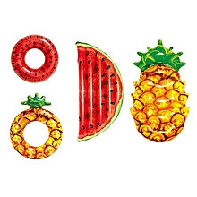 Xiaomi Bestway Watermelon Pineapple Inflatable Floating Swimming Ring Beach Water Pool Party Toy