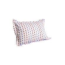 2Pcs - Decorative Pillow & Case Set - Multicoloured