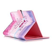 Flip Wallet Universal Leather Stand Card Slot Case For 7 Inch Android Tablet