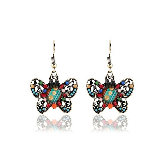 Nice Earrings For Women Drop Erfly Fashion Western Style Lady S Accessories One Pair