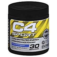 Concentrated Energy Performance Powder Blue Raspberry (285g)