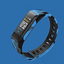 V7 Dialog DA14585 Camouflage strap Smart Bracelet Sleep Monitor Fitness Tracker Sport Watch