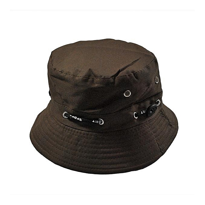 singedanMen Women Unisex Cotton Bucket Hat Double Side Fishing Boonie Bush  Cap Visor Sun -coffee 6b32fee915