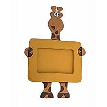 Animal Picture Frame - Giraffe