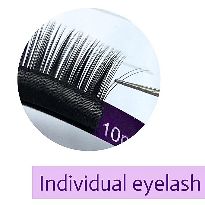eed947833a6 ... NAGARAKU 5 cases/lot faux mink eyelash extension individual eyelashes  natural eyelashes make up maquiagem ...