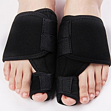 CO Left/Right Aolikes Hallux Valgus Thumb Correction Strap Feet Care Device-black