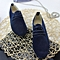 Women casual boyfriend shoes (navy blue)