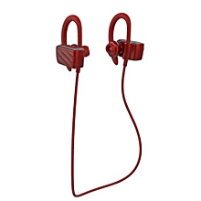 Handfree headsets, S560 Wireless Bluetooth Earphone Sports Headphone Music Stereo Sound Headset with Mic Support Hands-free Calls(Red)